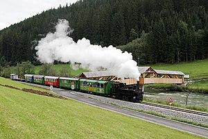 Tamsweg - Steam train on the Mur Valley railway