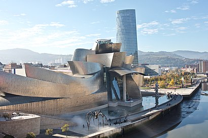Cómo llegar a Museo Guggenheim Bilbao en transporte público - Sobre el lugar