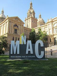 Art museum in Palau Nacional, Barcelona