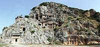 Myra Mezarları Tapınakları.jpg