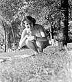 Női portré, 1954 Fortepan 7337.jpg