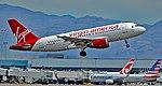N529VA Virgin America 2008 Airbus A319-112 (cn 3684) Moonlights, camera, action (21281771973).jpg