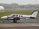 N600PE Beechcraft Baron G58 (30090126794).jpg