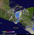 NASA Satellites See Hurricane Barbara Come Ashore and Fizzle (8904207579).jpg