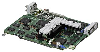 PC-FX - Image: NEC PC FX Motherboard L1
