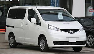 English: NISSAN NV200 VANETTE