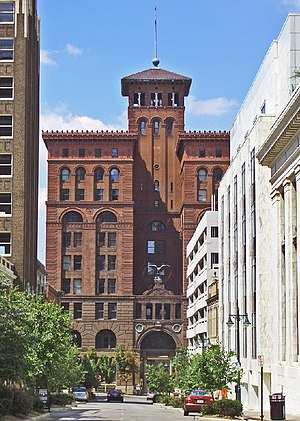 Architecture of Kansas City - New York Life Building (1888-1890) designed by McKim, Mead and White in downtown Kansas City.