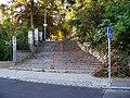 Nad Santoškou, schodiště ke Xaveriově.jpg