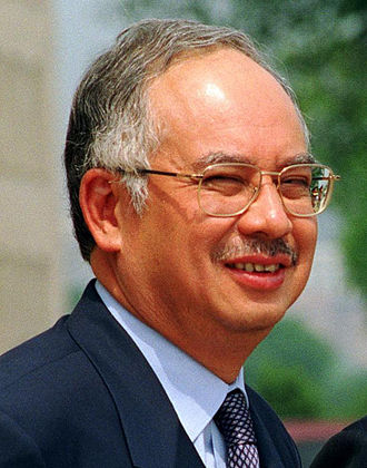 Najib Razak - Najib, pictured in May 2002.