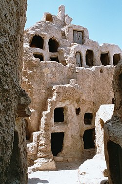 Granaries in Nalut