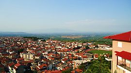 Naousa view from St Theologos hill 2.jpg