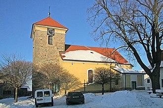 Nasavrky - Saint Gilles Church
