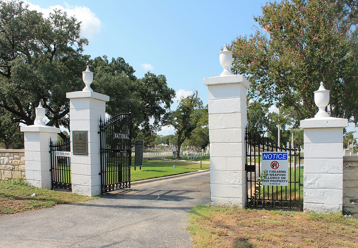 San Antonio National Cemetery Wikipedia