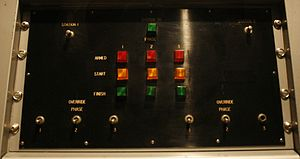 Lethal injection - The Control Module of the lethal injection machine formerly installed in the James T. Vaughn Correctional Center, Delaware. On display in the National Museum of Crime & Punishment, Washington, D.C. (2009)