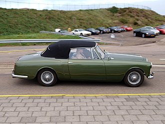 Park Ward - Alvis TD21 drophead coupé 1960
