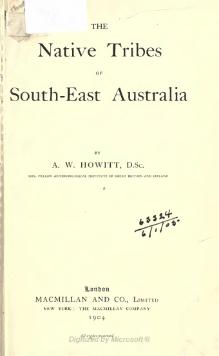 Native Tribes of South-East Australia.djvu