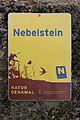 Naturdenkmal-Schild Nebelstein 2016-08.jpg