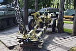Naval Reinosa R-58 105 mm howitzer back in Museum of technique 2016-08-16.JPG