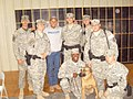 Neal McCoy 2008 USO Tour to Iraq with MP Security.JPG