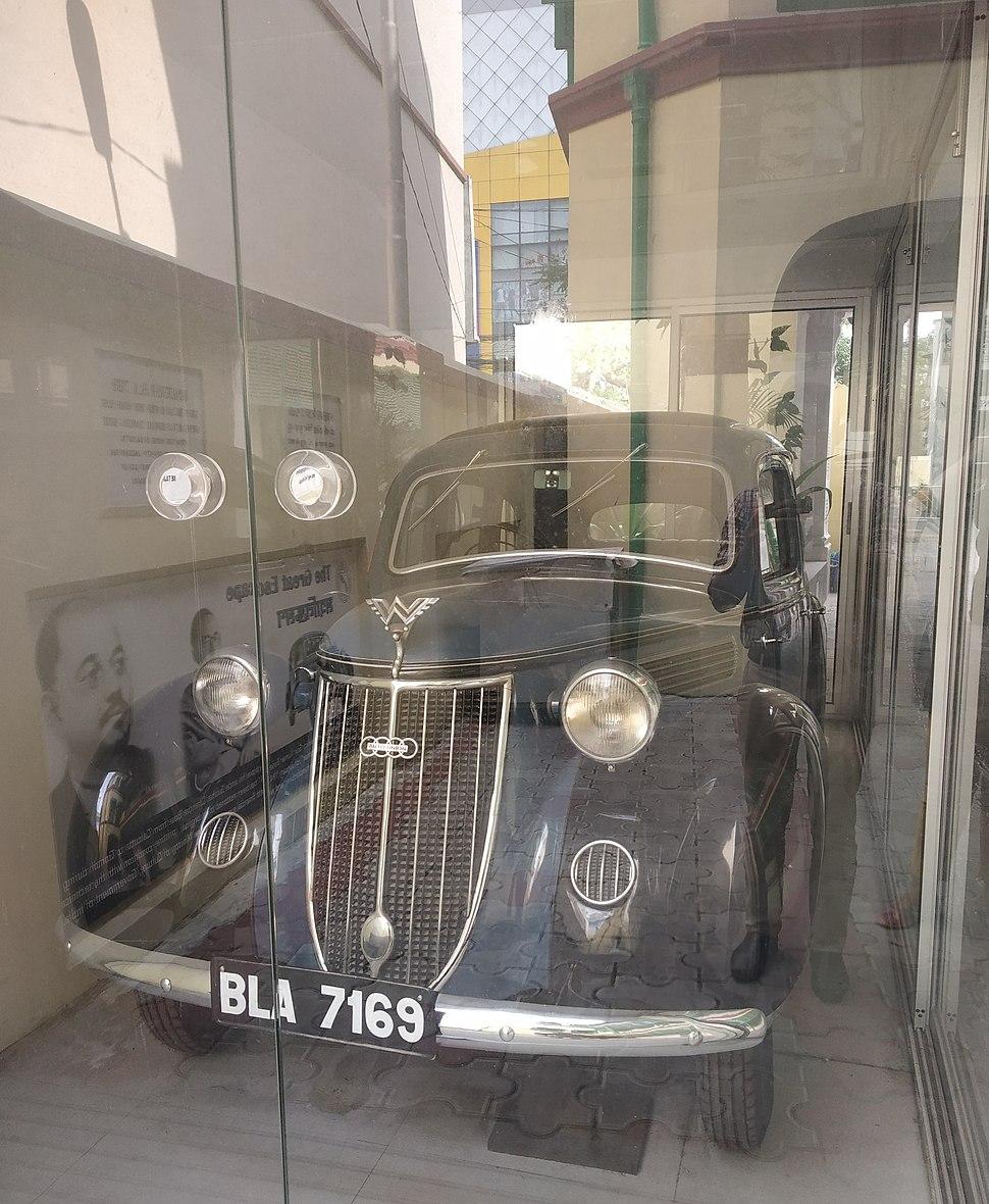 Netaji Subhash Chandra Bose's Car's Front View