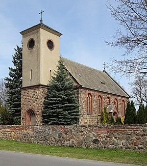 Steinhöfel - Image: Neuendorf (Steinhoefel) Dorfkirche