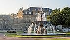 Neues Schloss Schlossplatzspringbrunnen Schlossplatz Stuttgart 2015 05.jpg