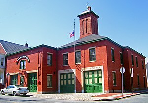 New Bedford Fire Museum - The New Bedford Fire Museum, formerly Fire Station No. 4