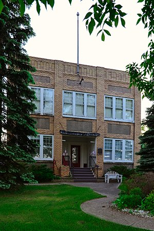National Register of Historic Places listings in Roberts County, South Dakota - Image: New Effington Hospital
