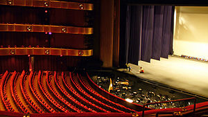 David H. Koch Theater - Interior of the theater, prior to 2008 renovations