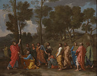 Nicolas Poussin - The Sacrament of Ordination (Christ Presenting the Keys to Saint Peter) - Google Art Project.jpg