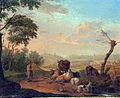Nicolas de Fassin, Jonge herder die het vee drenkt, 1769.jpg