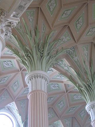 Johann Carl Friedrich Dauthe - Nikolai Church column detail