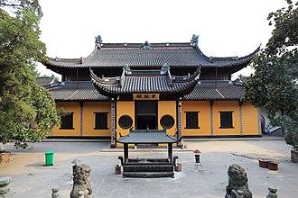 Tiantong Temple - The Hall of Skanda.