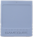 Carte mémoire GameCube.