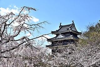 Nishio City in Chūbu, Japan