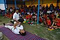 Nisith Ranjan Chowdhury Explains Pabanmuktasana Benefits - Football Workshop - Nisana Foundation - Sagar Sangha Stadium - Baruipur - South 24 Parganas 2016-02-14 1392.JPG