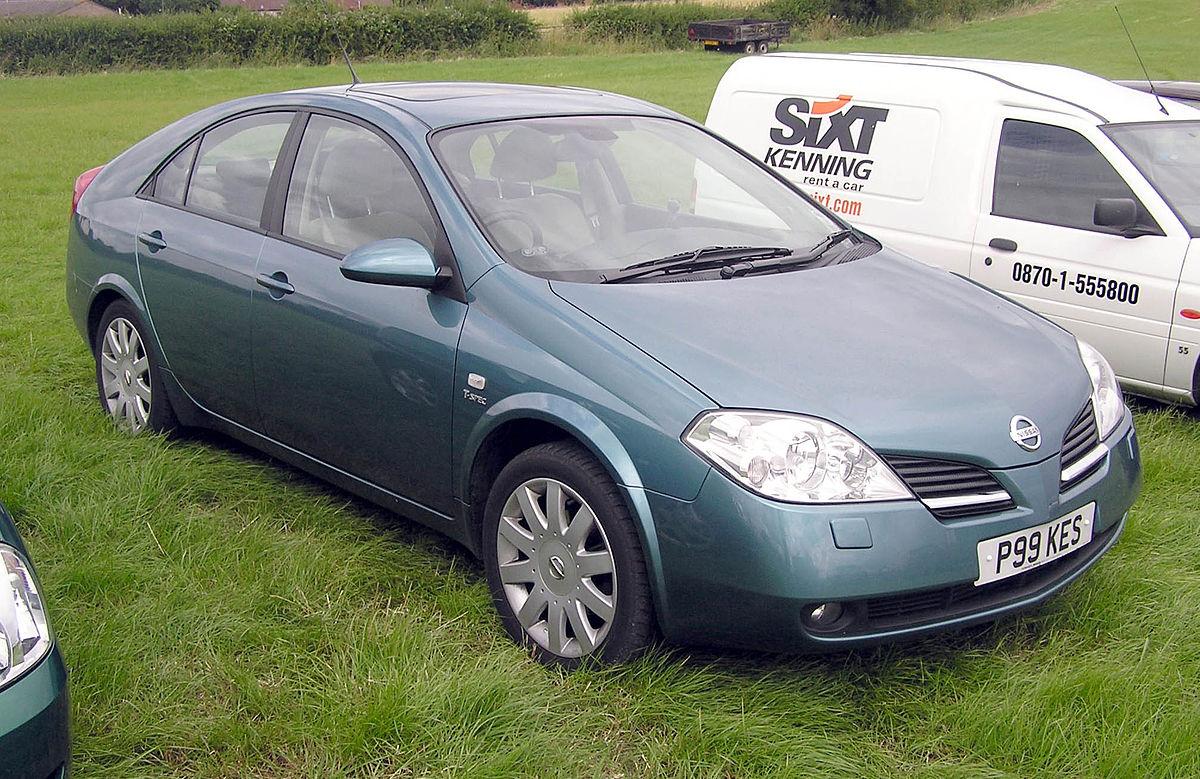 Nissan Primera Vikipedi