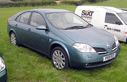 Map of Nissan Primera  The Full Wiki