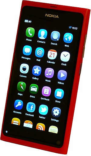 History of Nokia - Nokia N9 running MeeGo Harmattan