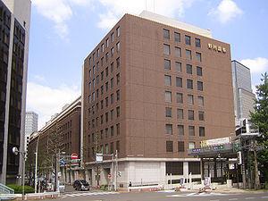 Nomura Holdings - The headquarters of Nomura in Tokyo, Japan.
