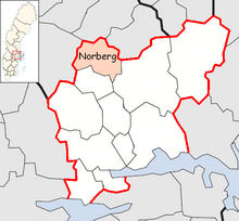 Norberg Municipality in Västmanland County.png