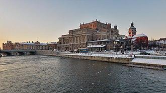 Stockholms ström - Stockholms ström in December 2012