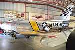 North American F-86E Sabre 'FU-067' 'Beautious Butch' (NX186SE) (26800282425).jpg