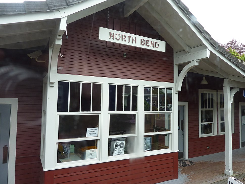 North Bend railway station 2011