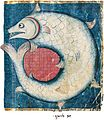 North French Hebrew Miscellany 518b Leviathan.jpg