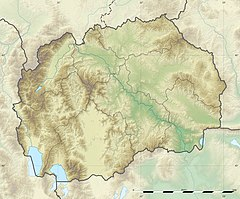 Orqushë is located in Maqedonia e Veriut