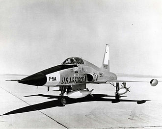 Northrop F-5 - The first Northrop YF-5A prototype
