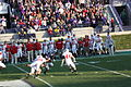 Northwestern Wildcats v Wisconsin Badgers 2009.jpg