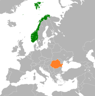 Diplomatic relations between the Kingdom of Norway and Romania