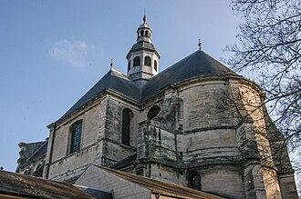 Musée des Beaux-Arts de Caen - The Sainte-Catherine-des-Arts church.